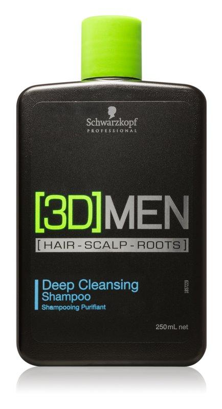 Schwarzkopf Professional [3D] MEN champú de limpieza profunda